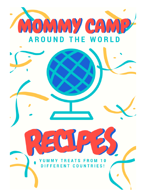 recipes for an around the world unit free!