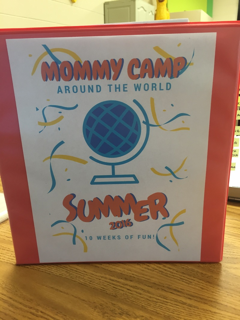 Mommy Camp: Around the World 10 weeks of pre-planned lessons, printables, recipes and more for free!