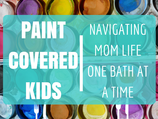 Paint Covered Kids