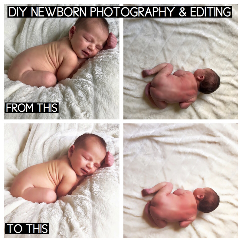 Diy Newborn Photography Paint Covered Kids